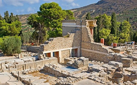 ‪The Palace of Knossos‬