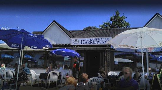 Schwanewede, Alemania: Ein Sommermonat auf Harriersand vor der Strandhalle