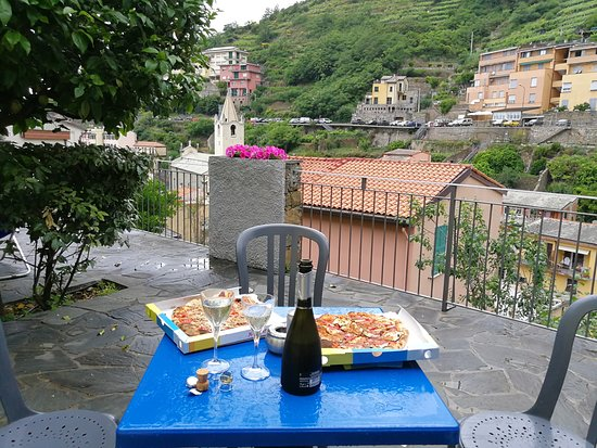 """Cinqueterre Residence: Just outside our room, """"our"""" table"""
