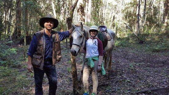 Beechwood, Australia: Mark, Rachel and Sam