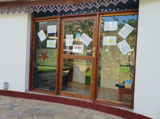 Nungwi, Tanzania: outside the escape room