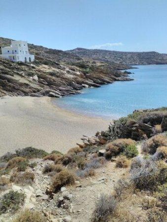 "Manganari, اليونان: spiaggia del ""tedesco"""