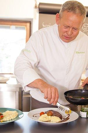 Gmund am Tegernsee, Alemania: Mittagessen vom Chef oder mit dem Chef zusammen kochen im Kochkurs