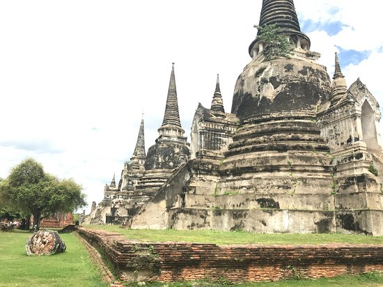 3 Stupas install King's ashes - Picture of My Tour Guide