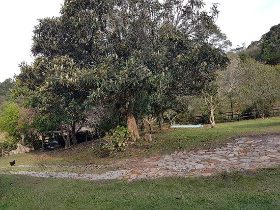 Delicias na Roca: Área externa