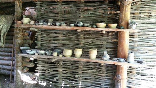 Madonna di Senales, إيطاليا: Riproduzioni di vettovaglie in terracotta 