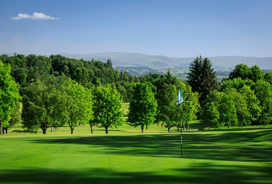 Crieff, UK : View over Strathearn