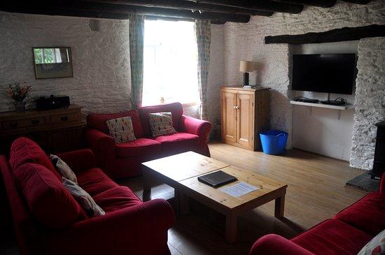 East Allington, UK: Our lounge