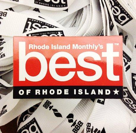 We won Best of Rhode Island in 2015!