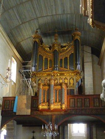 Saint-Thegonnec, France: l'orgue