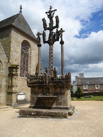 Saint-Thegonnec, France: le calvaire