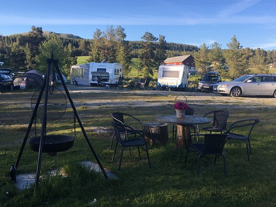 Vaga Municipality, النرويج: Places for tent, caravan and motorhome