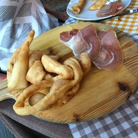 Ponte Valleceppi, Italy: Lekkere gerechten