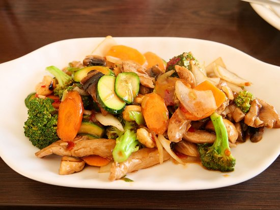 Phuket Restaurant: Chicken and cashew stir fry