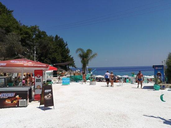 Marble beach Photo