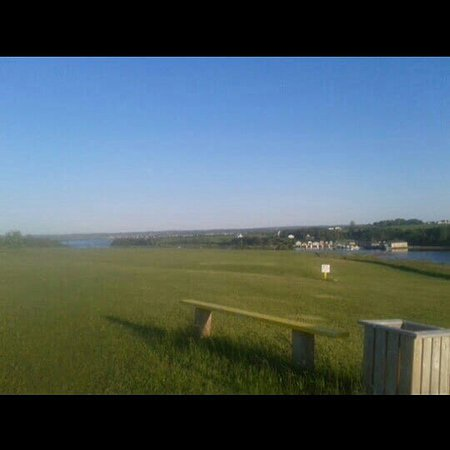 French River, Kanada: We saved you a seat, 2 can golf 9 holes with a golf car $35.00 or 2 with a golf car, 18 holes $5