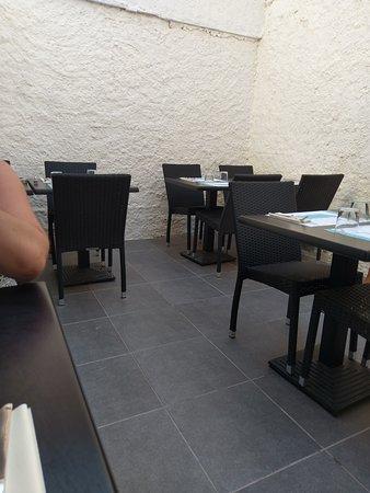 Patio du restaurant