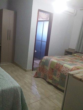 Valparaiso De Goias, GO: quartos casal  com ar condicionado