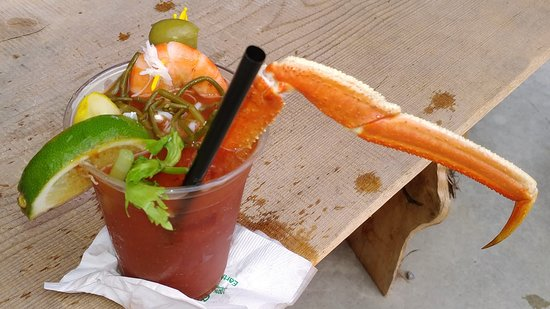 The Crab Station at Icy Strait Point: The Crab Station Bloody Mary