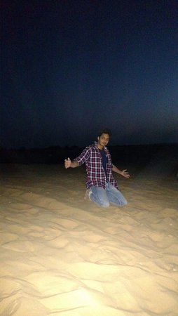 ‪‪Jaisalmer District‬, الهند: Nightout sam dunes‬