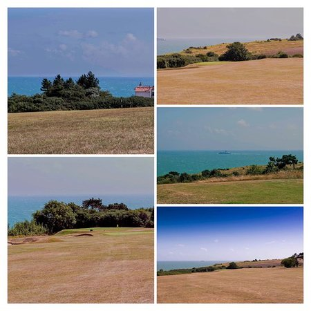 Walmer & Kingsdown Golf Club: various views from the course