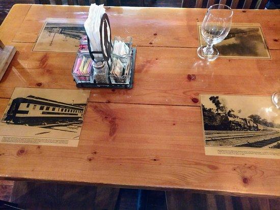 Essex, MT: table set