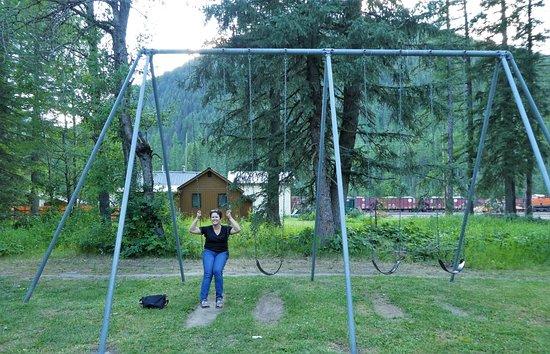 Essex, MT: fun to swing