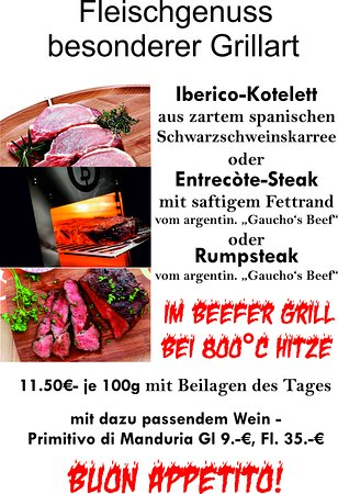 Unser Beefer-Grill für Sie