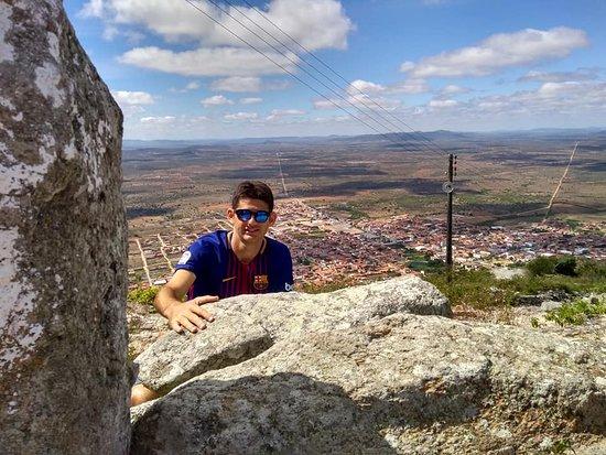 Vista da Cidade Monte Santo de cima do monte
