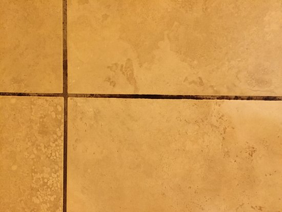 Black mold on the bathroom tile Picture of Days Inn & Suites by