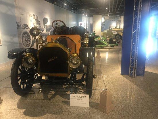Boatail Picture of Auburn Cord Duesenberg Automobile Museum