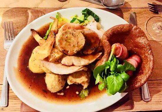 Meifod, UK: Christmas lunch