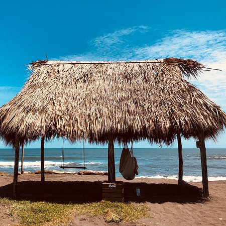 El Paredón, Guatemala: The hotel & Swell's beach hut