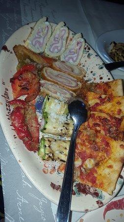 Vecchia Osteria U Nozzularu: Uno di tante portate di antipasti