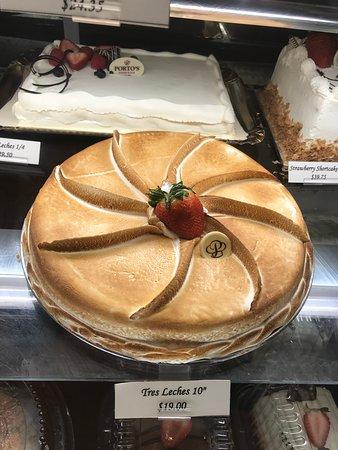Tres Leches Cake Picture Of Porto S Bakery Cafe Burbank Tripadvisor