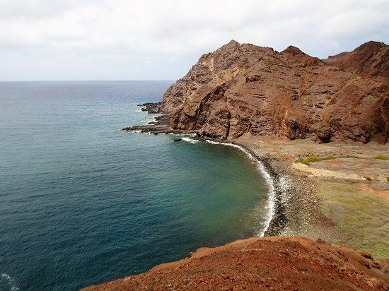 St Helena Island: the bay