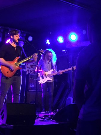 """""""Ghostly Times"""" band playing at Mercury Lounge on 8/6/18"""