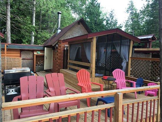 Killaloe, Canada: Sauna