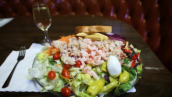 Pismo Fish Chips Seafood Restaurant Louie Salad