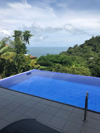 This is the private pool at our villa Nina de Gansos