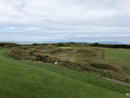 Royal Troon Golf Club The Postage Stamp Par 3 Famous Hole That