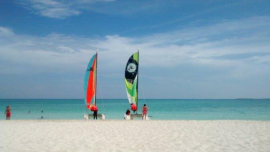 Valentin Perla Blanca : excelente playa, limpia clara