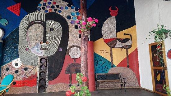 Tumbabiro, Ecuador: zona habitaciones El Cortijo
