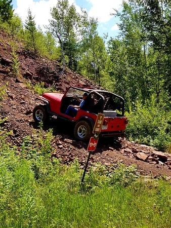 Gilbert, Миннесота: Iron Range Off-Highway Vehicle State Recreation Area