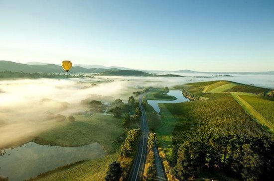 Ballongferd over Yarra Valley ved...