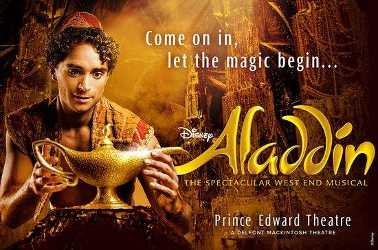 Comédie musicale Aladin à Londres