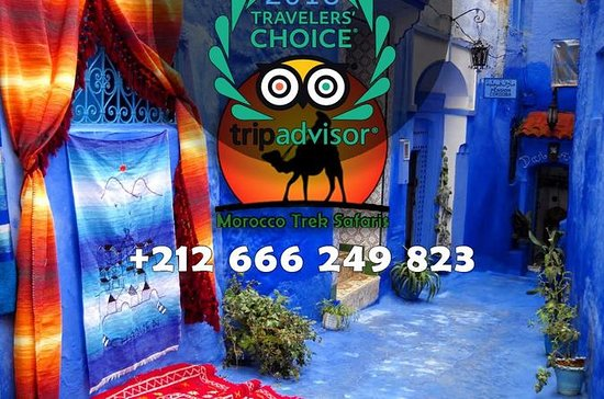 Small Group Day Tour to Chefchaouen...