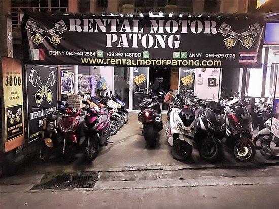 Rental Motor Patong