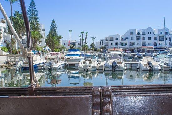 Tunis Governorate, Tunisia: Вид с корабля
