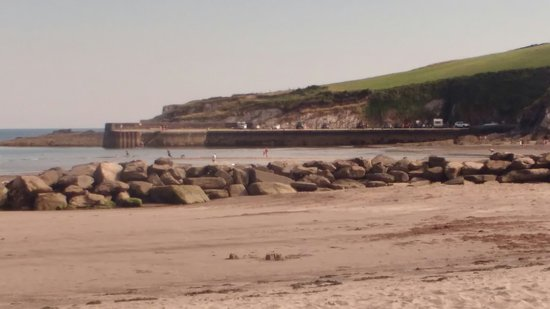 Rosscarbery, Ireland: Views of Warren Beach and the Lifeguard post